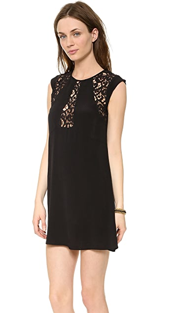 Bless'ed are the Meek Lace Foliage Dress