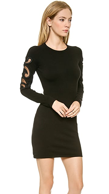 Bless'ed are the Meek French Curve Dress