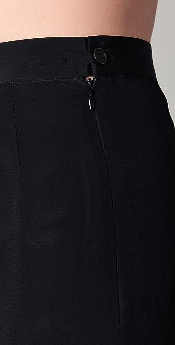 BLK DNM Fishtail Maxi Skirt