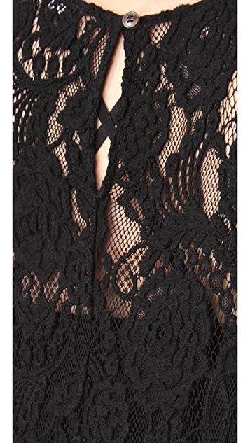 BLK DNM Lace Maxi Dress