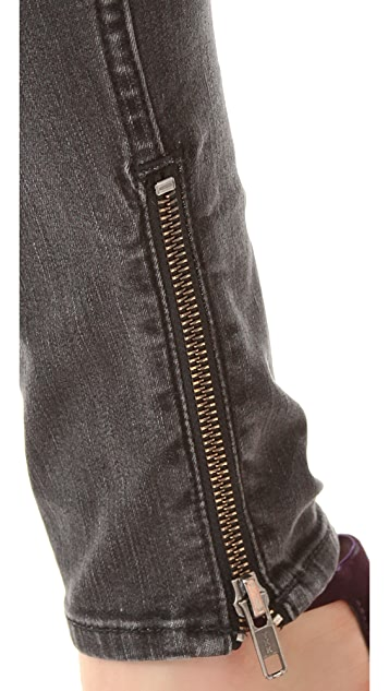 BLK DNM Skinny Jeans 8 with Ankle Zip
