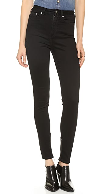 BLK DNM High Waisted Legging Jeans