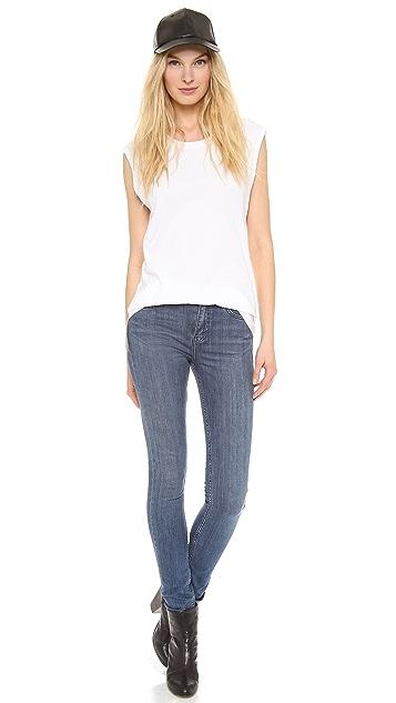 BLK DNM Skinny Straight Jeans