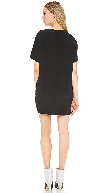 BLK DNM Short Sleeve Dress