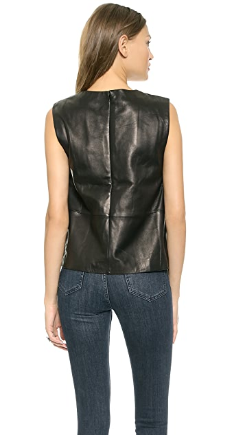 BLK DNM Leather Shirt 23
