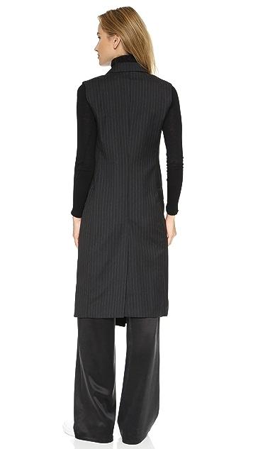 BLK DNM Tailored Pinstripe Vest 27