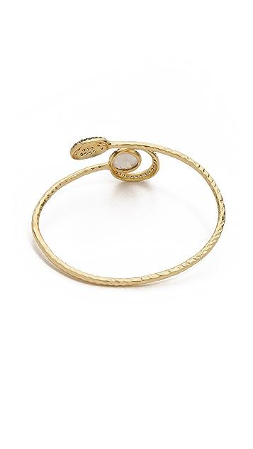 Blossom Box Pave Moonstone Bracelet