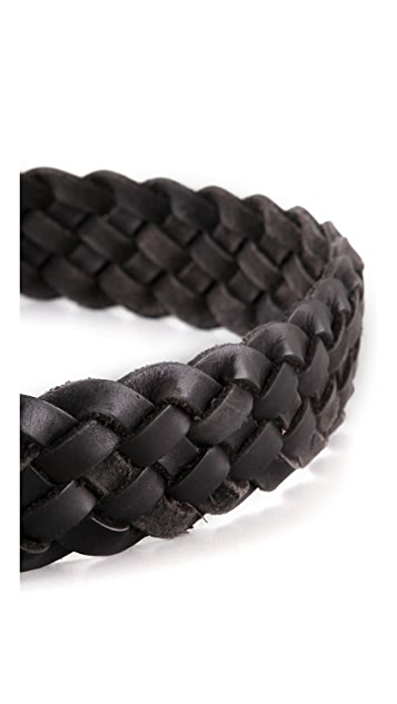 B-Low The Belt Braided Belt
