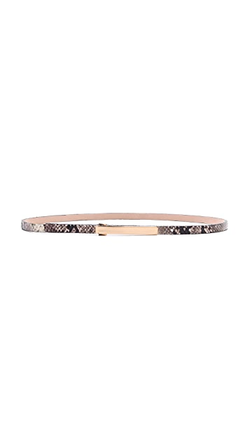 B-Low The Belt Skinny Snake Belt