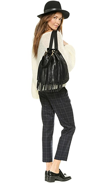 B-Low The Belt Weekender Fringe Backpack