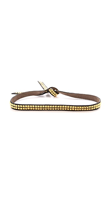 B-Low The Belt Studded Tie Belt