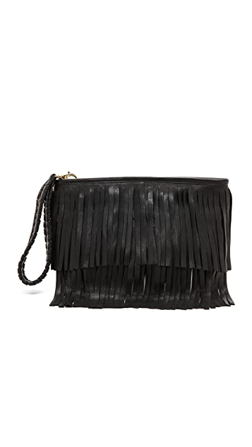 B-Low The Belt Twiggy Fringe Clutch