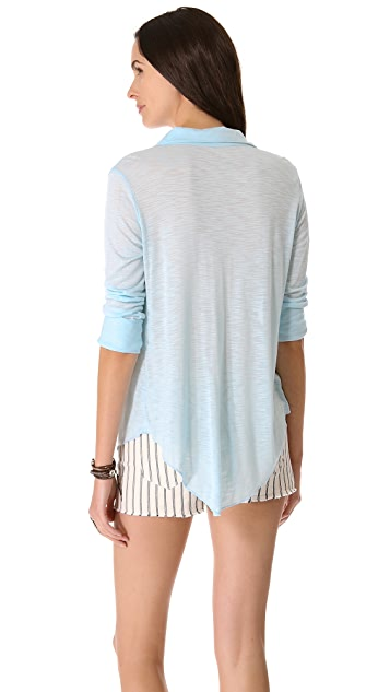 Blue Life Perfect Shirting Top
