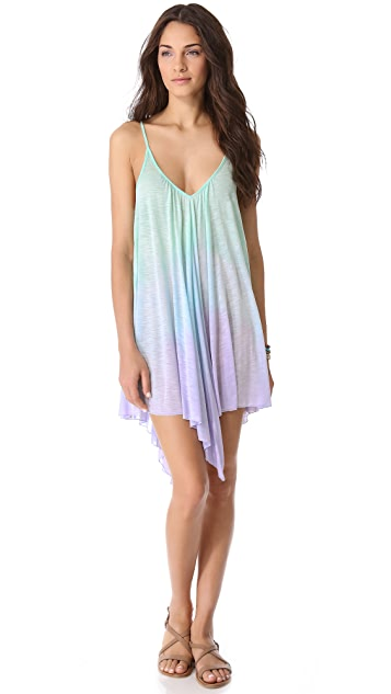 Blue Life Ombre Babydoll Dress