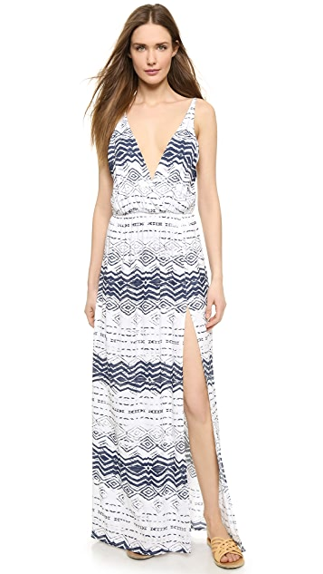 Blue Life High Tide Maxi Dress
