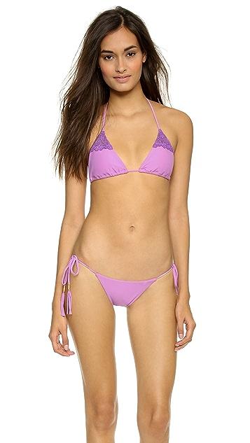 Blue Life Desert Sun Tie Bikini Bottoms