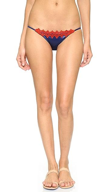 Blue Life Paradise Skimpy Bikini Bottoms