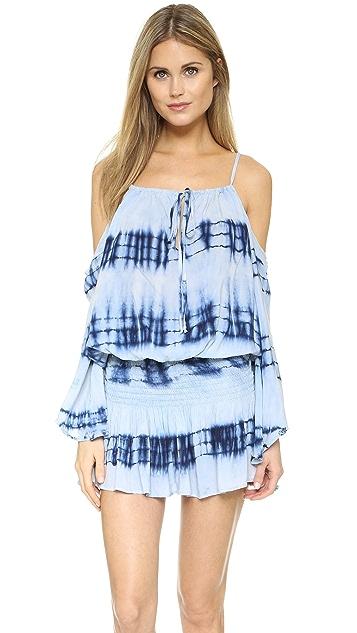 Blue Life Shirred Waist Dress