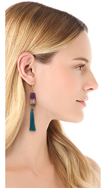 bluma project Fringe Earrings