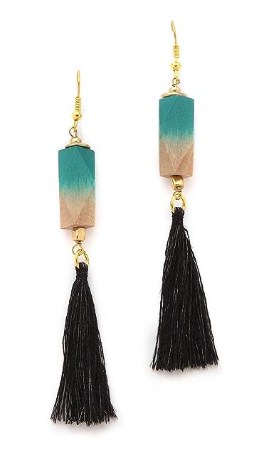 bluma project Fringe Earrings