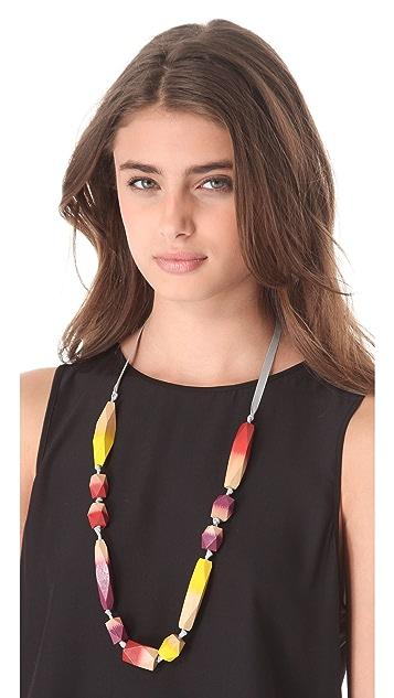 bluma project Ikat Necklace