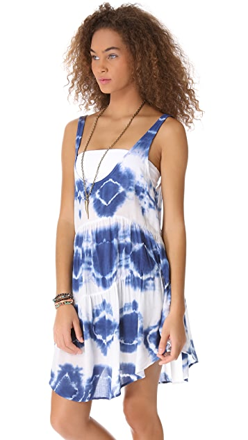 Blu Moon Babydoll Tank Dress