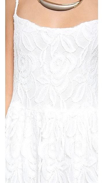 Blu Moon Lace Park Mini Dress