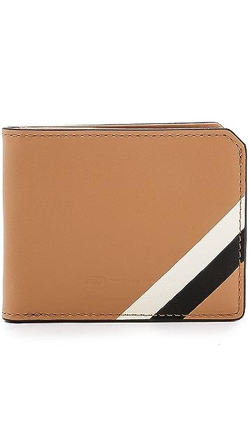 Uri Minkoff Waxy Leather Vesper Wallet