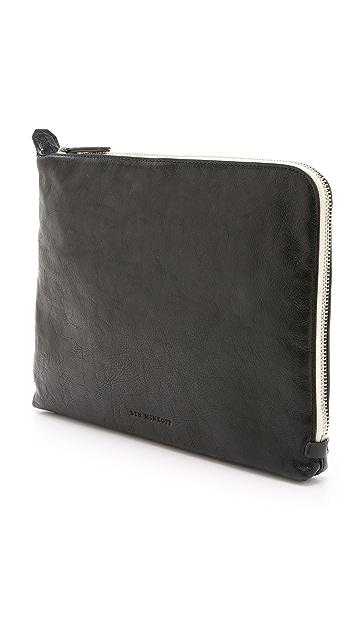 Uri Minkoff Pebbled Leather Warren Pouch