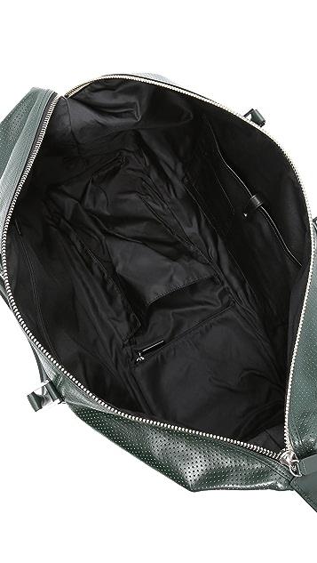 Uri Minkoff Perforated Leather Wythe Weekender