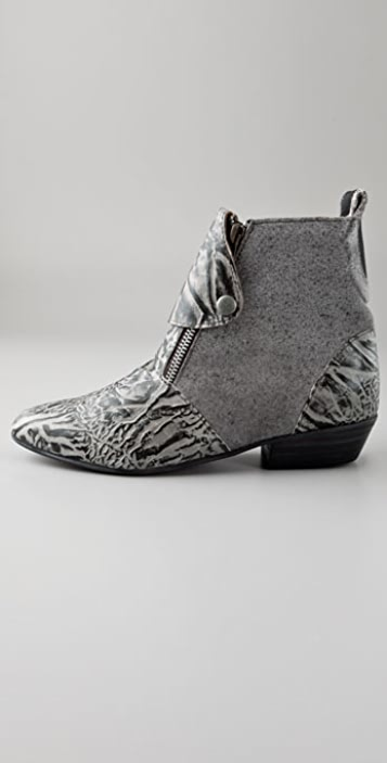 Becca Moon Cody Print Booties