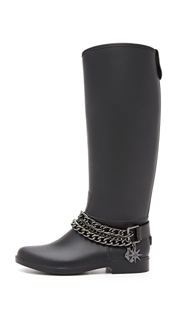 Boutique Moschino Love Moschino Rain Boots
