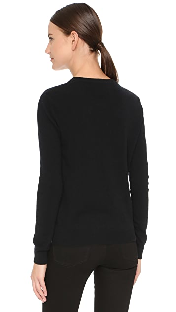 Boutique Moschino Cashmere Long Sleeve Sweater