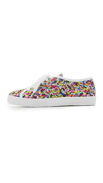 Boutique Moschino 印花运动鞋