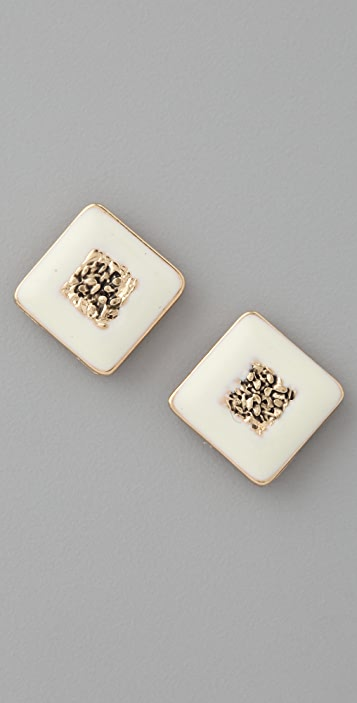 Belle Noel Nugget Stud Earrings