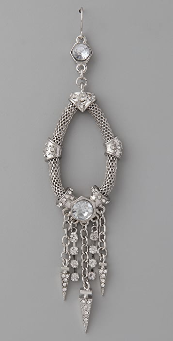 Belle Noel Crystal and Dagger Earrings
