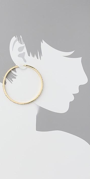 Belle Noel Honey Hoop Earrings