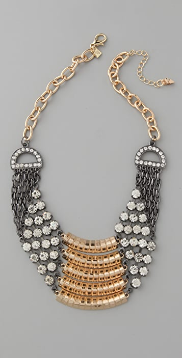 Belle Noel Layer Pave Necklace