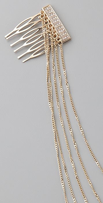 Belle Noel Pave Hair Chain