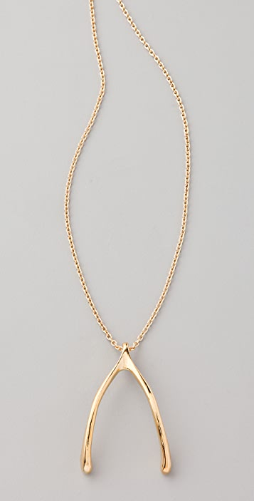 Belle Noel Wishbone Necklace