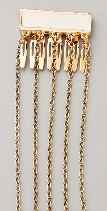 Belle Noel Enamel Hair Chain