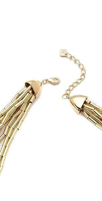 Belle Noel Tube & Bead Collar Necklace