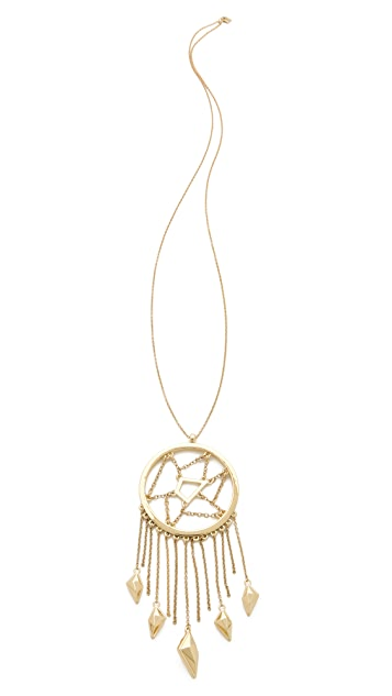 Belle Noel Dreamcatcher Necklace