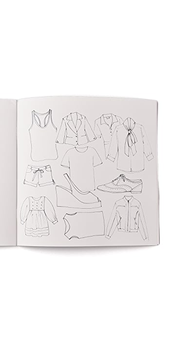 Books with Style Colour Me Good Fashion Coloring Book