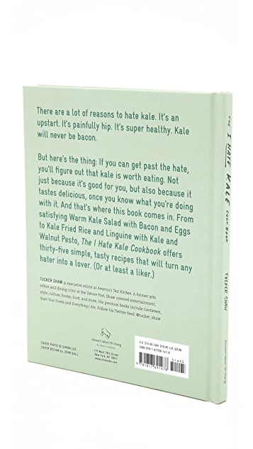 Books with Style The I Hate Kale Cookbook