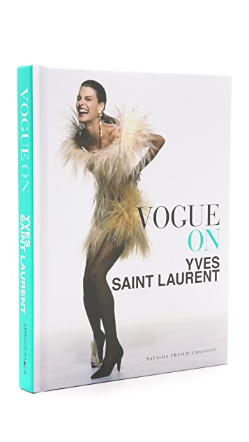 Books with Style Vogue on Yves Saint Laurent