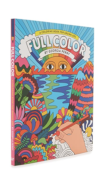 Books with Style Full Color: A Coloring Book for Grown-Ups