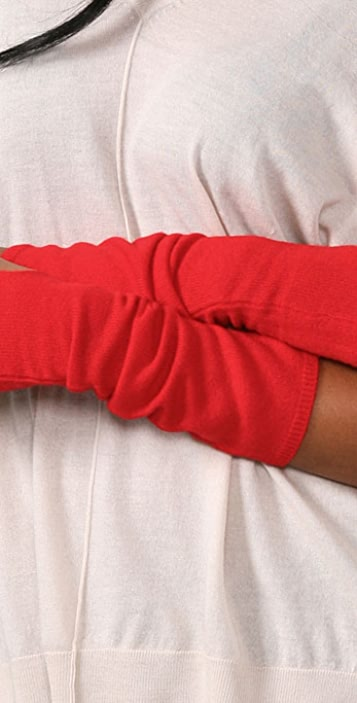 Bop Basics Cashmere Long Fingerless Gloves