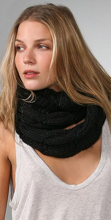 Bop Basics Thick Knit Infinity Scarf