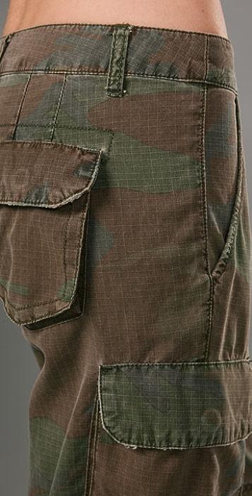 Bop Basics Camo Bermuda Shorts